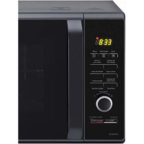 LG 28 L Convection Microwave Oven (MC2886BFUM, Black, 360 Motorised Rotisserie, With Starter Kit)