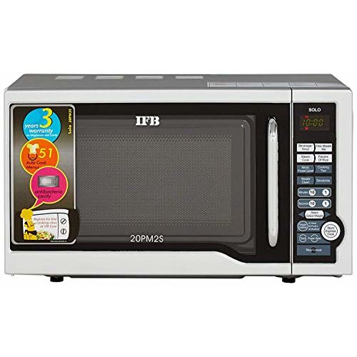IFB 20 L Solo Microwave Oven (20PM2S, Silver)