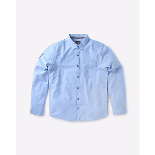 YB DNMX Oxford Shirt with Patch Pocket