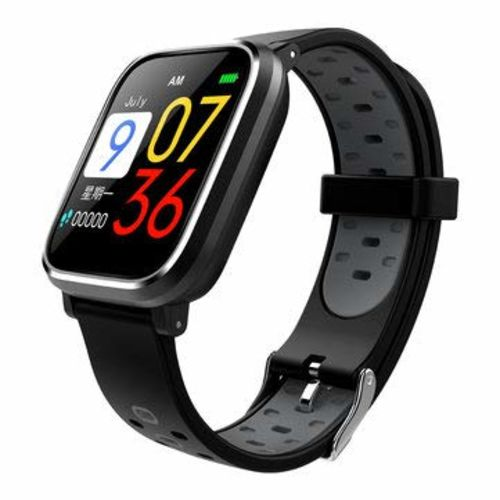 Frittle BD600 Black Silicone Waterproof Fittnes Smart Band