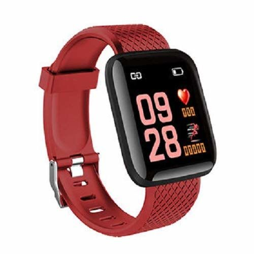 Teconica RBM734 Bluetooth Smart Fitness Band Watch for Men|Women with Heart Rate Activity Like Sleeping,Pendometer,Distance,Calorie Monitor Support with All