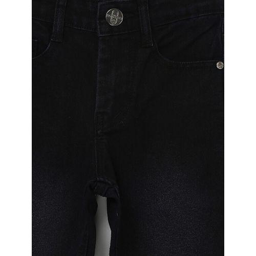 Urbano Juniors black cotton washed jean