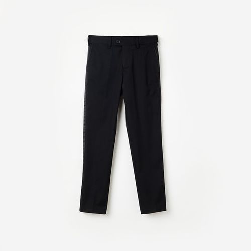 FAME FOREVER YOUNG Solid Tape Detailed Chinos