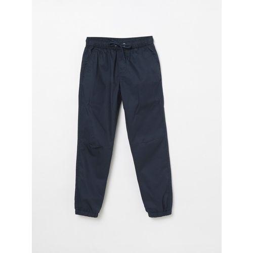 FAME FOREVER Regular Fit Boys Dark Blue Trousers