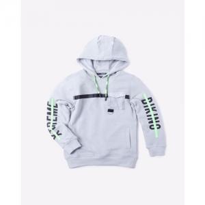 KB TEAM SPIRIT Typographic Print Hooded Sweatshirt