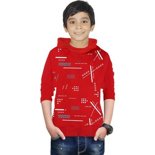 FastColors Full Sleeve Printed Boys Sweatshirt