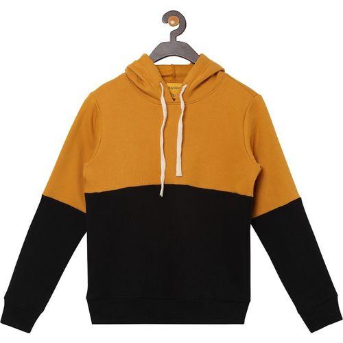 Instafab by Campus Sutra Full Sleeve Color Block Boys Sweatshirt