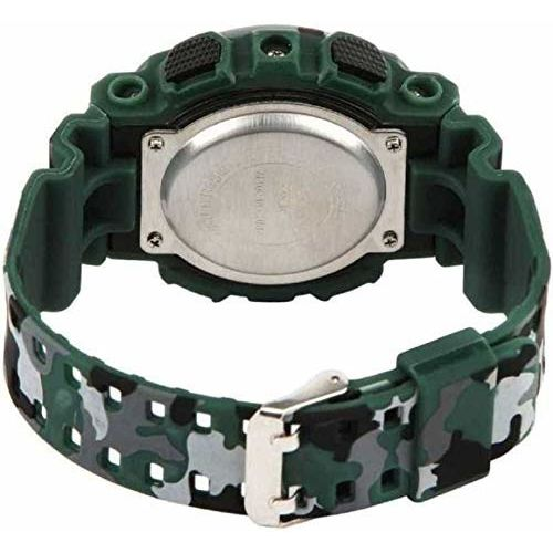 TIMESOON Multi Color Army Kids Digital Watch for Boys and Mens Watch (Green)