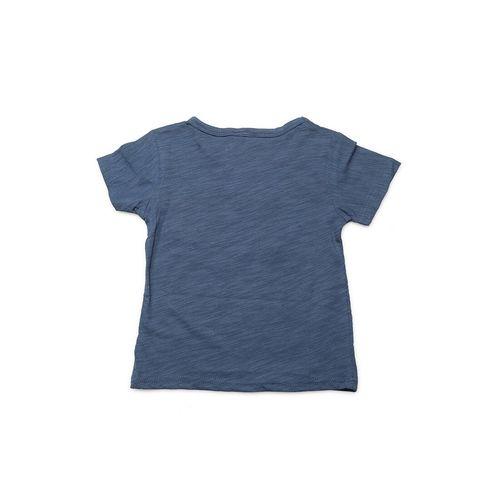 J STYLE blue cotton full length sets twin set