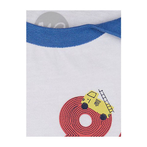 Mothercare Kids Blue Printed T-Shirt With Joggers
