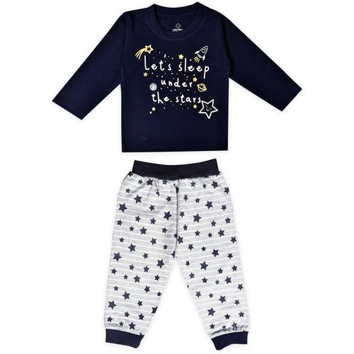 The Boo Boo Club Baby Boys & Baby Girls Casual T-shirt Pant(Multicolor)