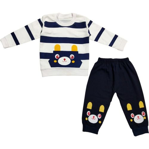Epochlite Baby Boys & Baby Girls Casual T-shirt T-shirt, Track Pants(Multicolor)