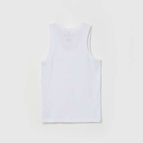 FAME FOREVER Solid Slleeveless Cotton Vests - Pack of 2 Pcs.