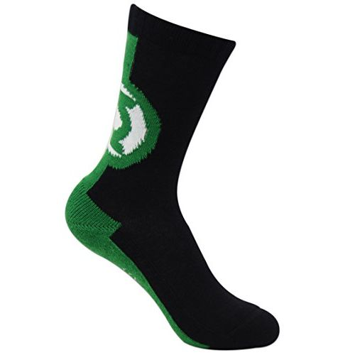 BALENZIA Justice League Kids Crew Socks - Superman, Batman, Green Lantern - Pack of 3