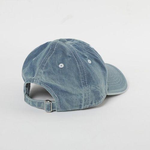 SMILEY Textured Baseball Cap with Branding