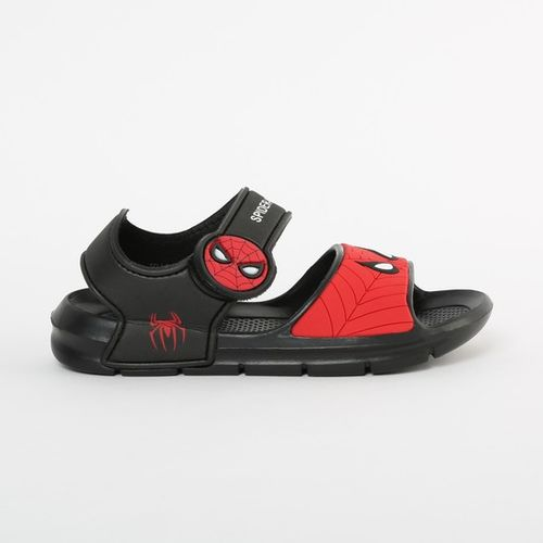 FAME FOREVER Spiderman Print Floaters with Applique