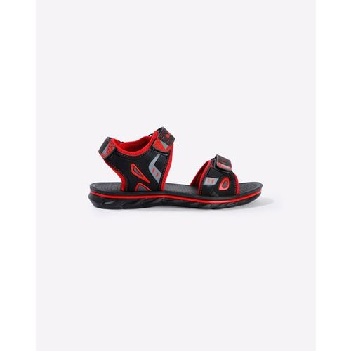 HI-ATTITUDE Flat Sandals with Velcro Fastening