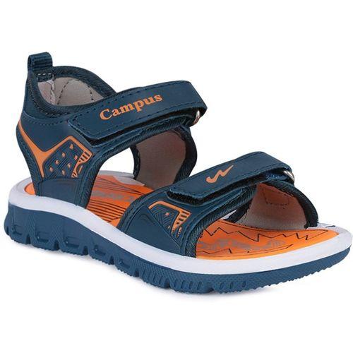Campus Boys & Girls Velcro Sports Sandals(Blue)