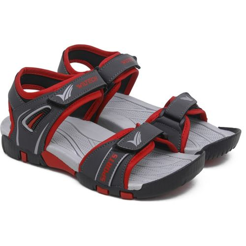 Asian Boys Velcro Sports Sandals(Grey)