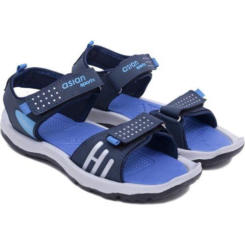 Asian Boys & Girls Velcro Sports Sandals(Red)