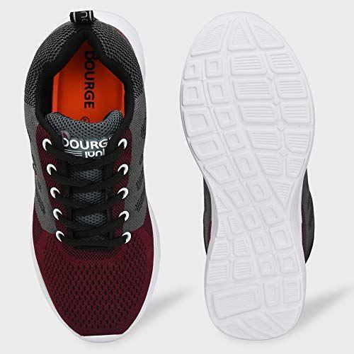 Bourge Boy's Orange-06 Running Shoes
