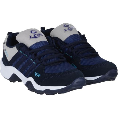 Lancer Boys Lace Running Shoes(Blue)