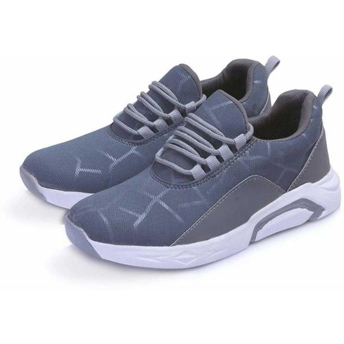 onlysu Boys & Girls Lace Running Shoes(Grey)