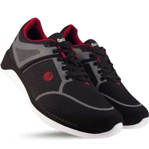 Action Boys & Girls Lace Running Shoes(Black)