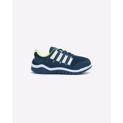 Campus Panelled Lace-Up Sports Shoes