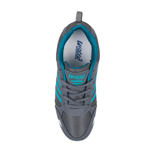asian grey mesh sports shoe