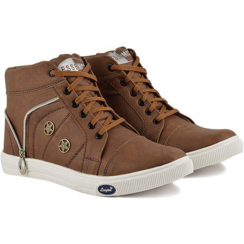 Essence Boys Lace Sneakers(Tan)