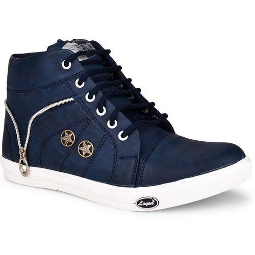 Essence Boys Lace Sneakers(Blue)