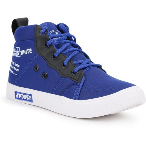 Extavo Boys & Girls Lace Sneakers(Blue)