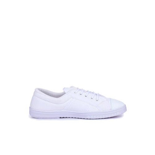 Gliders by Liberty Kids White Casual Sneakers