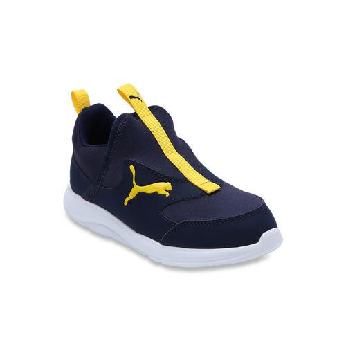 Puma Kids Fun Racer PS Peacoat Slip-On Sneakers