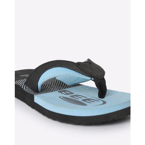 FRISBEE Colourblock Thong-Strap Flip-Flops