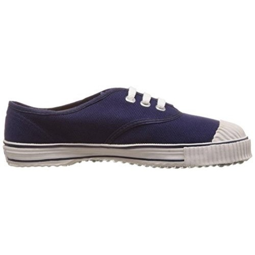 8f844d644394 ... Bata Boy s Tennis Blue Canvas Formal Shoes - 4 kids UK India (22 EU ...