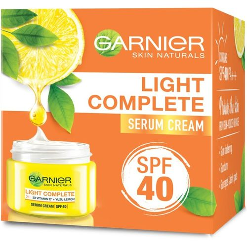 Garnier Skin Naturals Light Complete Serum Cream SPF 40, 45g(45 g)