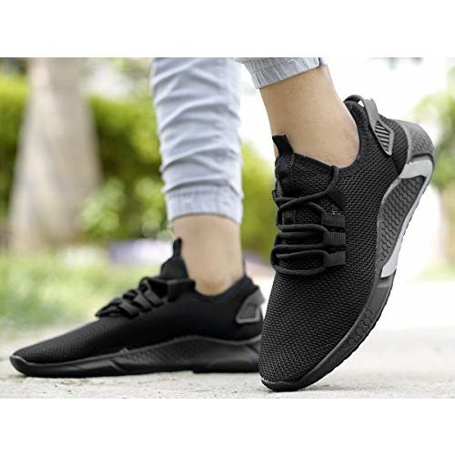 YTLER & OLRATTE Men's Stylish Fashionable Mesh Material Casual Sports Running Lace-Up Shoe