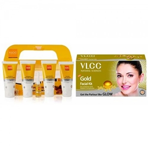 VLCC Pedicure and Manicure Kit And VLCC Gold Facial Kit, 60g