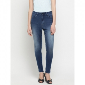 Pepe Jeans Blue Denim Washed Skinny Fit Jeans