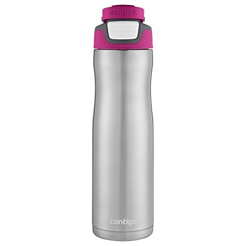 Contigo Autoseal Chill Stainless Steel Water Bottle, 24 Oz, Very Berry