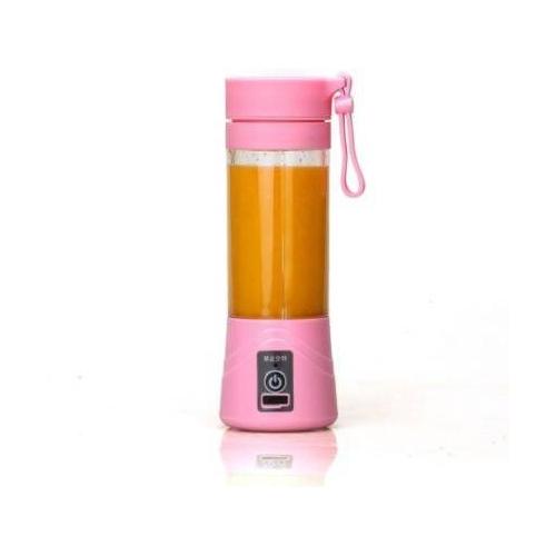 bloomhomez USB Portable Juicer & Blender 450 Juicer(Pink, 1 Jar)