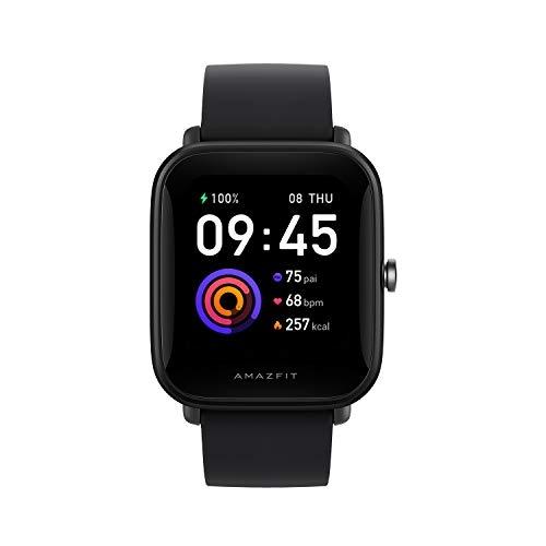 Amazfit Black  Rubber Sport Smart Watch