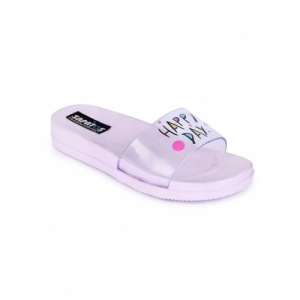 Sapatos purple Synthetic slip on flip flop