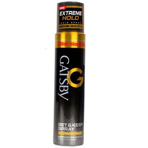 Gatsby Extreme Hold Set & Keep Spray Hair Spray(250 ml)