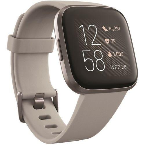 Fitbit Versa 2 Smartwatch(Grey Strap, Regular)