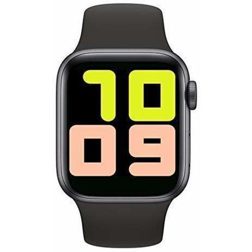 Faawn T500 SMART WATCH Smartwatch(Black Strap, M)
