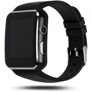 OWO X6 phone Smartwatch(Black Strap, Free Size)