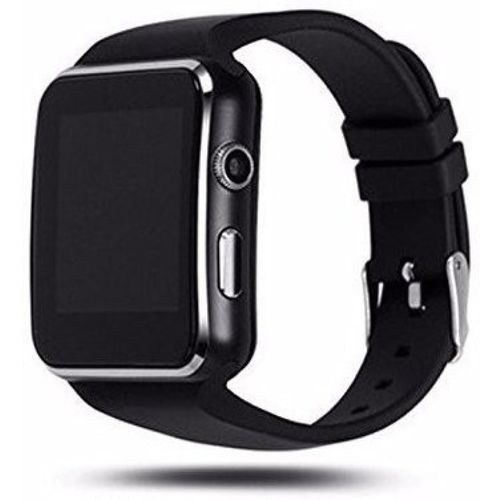 Jiyatech 4G Smart Mobile Watch Smartwatch(Black Strap, Regular)